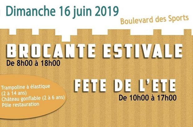 Bailly-Romainvilliers ► Brocante estivale et Fête de l'été, dimanche 16 juin 2019