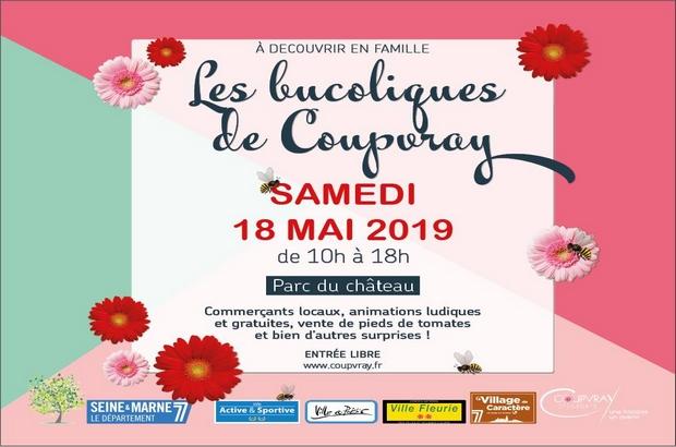 Coupvray ► Le Parc du Château reçoit Les Bucoliques de Coupvray samedi 18 mai