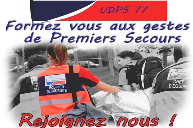 Seine et Marne ►Devenez secouristes des Premiers Secours de l'UDPS