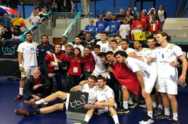 Serris ► L'équipe de France des U21 remporte le TIBY Val d'Europe