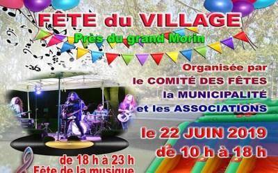 Saint-Germain sur Morin ► La Fête au Bord du Morin et de la Musique le 22 juin 2019