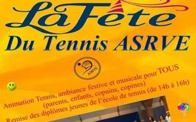 Bailly-Romainvilliers ► La Fête du Tennis ASRVE aura lieu  le 9 juin 2019