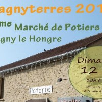 Magny le Hongre ►Marché de potiers à l'Atelier de Paix, dimanche 12 mai 2019