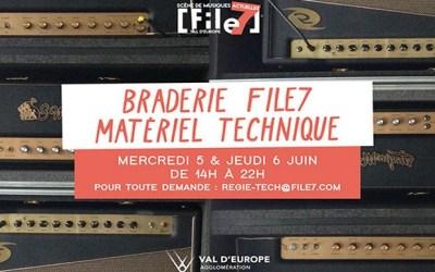 Magny le Hongre ► File 7 organise une braderie de son matériel technique les 5 et 6 juin