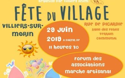 Villiers-sur-Morin ►1ère édition de la Fête du Village aura lieu samedi 29 juin
