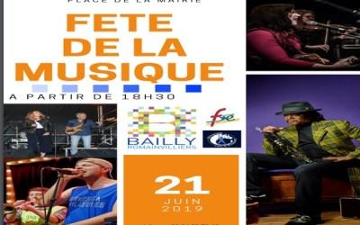 Bailly-Romainvilliers ► La fête de la musique aura lieu le 21 juin – le line up
