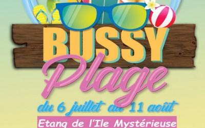Bussy-Saint-Georges : Bussy Plage revient dès le 6 juillet sur l'Etang de l'Ile Mystérieuse