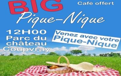 Coupvray ► Big pique-nique organisé au Parc du Château samedi 6 juillet 2019