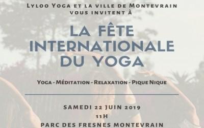 Montévrain ► Journée internationale du Yoga au Parc des Frênes le 22 juin