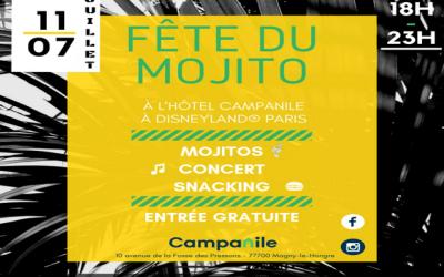 Magny le Hongre ► L'hôtel Campanile organise la Fête du Mojito le 11 juillet