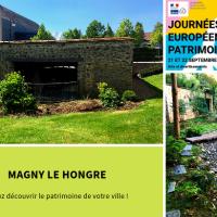 Magny le Hongre ► Visite guidée du Lavoir Sainte-Geneviève et du jardin Japonais