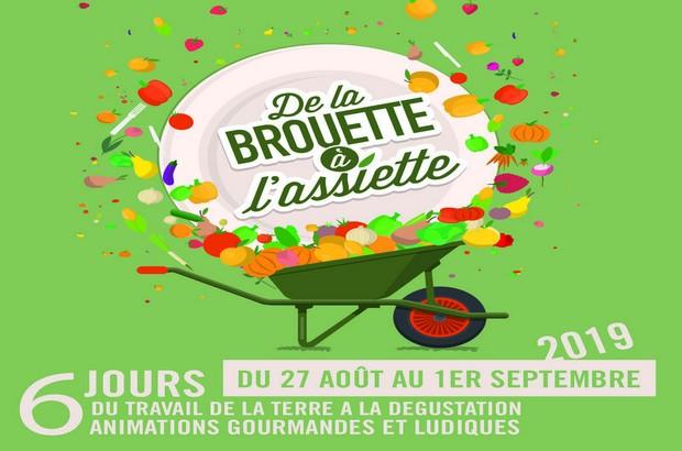 Fête de la Brouette à l'Assiette du 27 août au 1er septembre à la Cueillette du Plessis