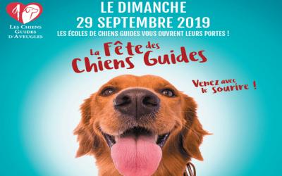 Coubert ► Dimanche 29 septembre 2019 c'est la fête des Chiens Guides