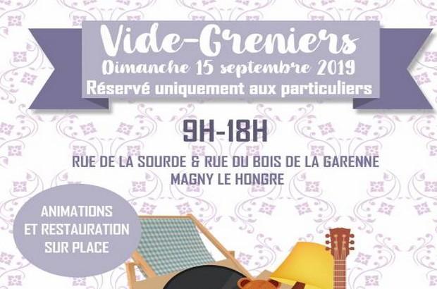 Magny le Hongre ► Venez chiner au traditionnel Vide Grenier dimanche 15 septembre