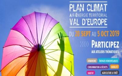 Une consultation citoyenne  au Val d'Europe sur le plan climat, participez aux ateliers