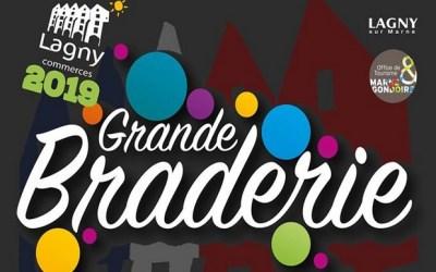 Lagny sur Marne ► La braderie des commerçants aura lieu samedi 14 septembre