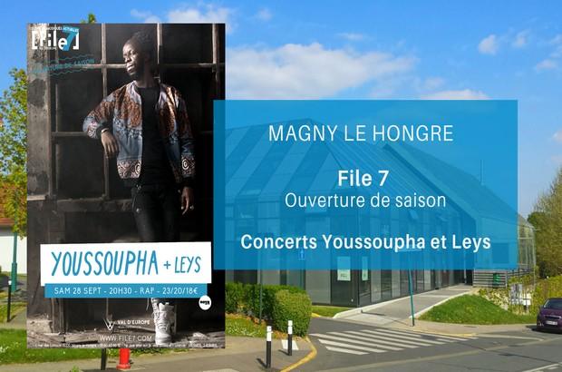 File 7 ► Ouverture de la saison avec les concerts de Youssoupha et Leys