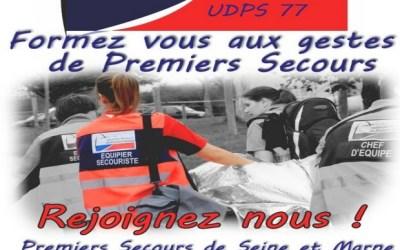 Seine et Marne ► Formez vous aux gestes de Premiers secours avec l'UDPS 77