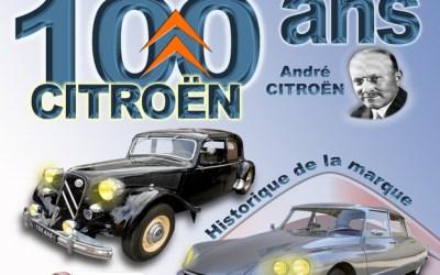 Saint Germain sur Morin accueille l'expo des 100 ans de Citroën le 20 octobre 2019