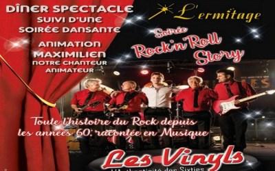 Soirée avec Les Vinyls en live au cabaret L'ermitage à Chalifert vendredi 8 novembre