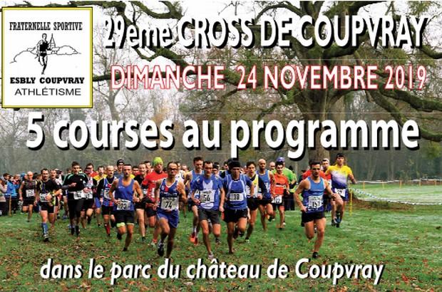 29 ème édition du Cross de Coupvray dans les allées du parc du château
