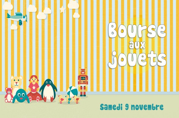 Bourse aux jouets organisée par le CCAS de Magny le Hongre le 9 novembre