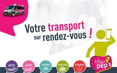 Le service de Transport à la demande « Plus de Pep's » évolue