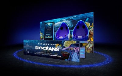 Immersion en réalité virtuelle entre les baleines ou les requins à Sea Life Val d'Europe