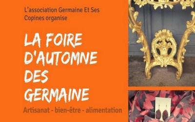 La foire d'automne des Germaine au Carré d'Art de Serris les 12 et 13 octobre