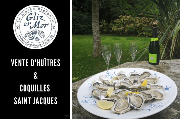 Préparez vos repas de fêtes avec Gliz Ar Mor, vente d'huîtres et Coquilles St Jacques
