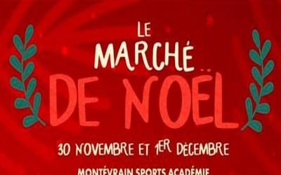 Petits et grands sont invités à découvrir le marché de Noël de Montévrain.