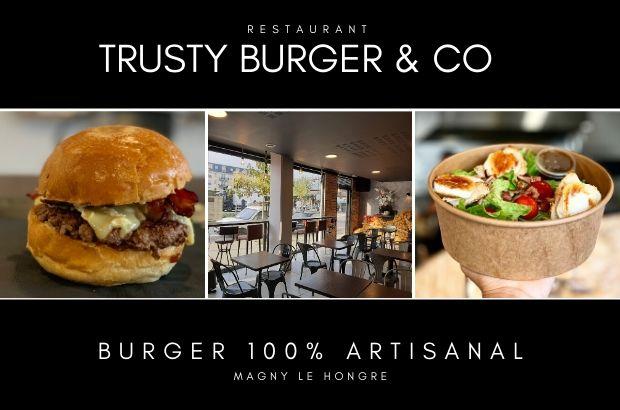 Le restaurant Trusty Burger a ouvert dans le centre ville de Magny le Hongre