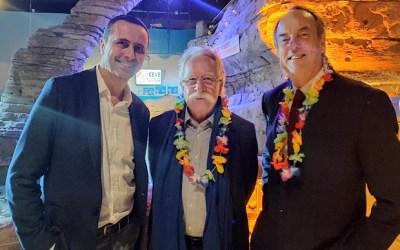 Soirée de fin d'année du CEVE : 80 élus et chefs d'entreprises du Val d'Europe au Sea Life