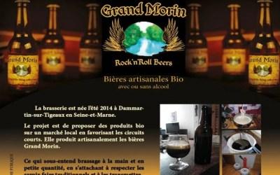 Apprenez à brasser votre propre bière lors d'ateliers brassage avec Grand Morin