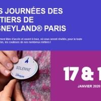 Journées des Métiers de Disneyland® Paris  les 17 et 18 Janvier 2020 au dôme du Disney Village