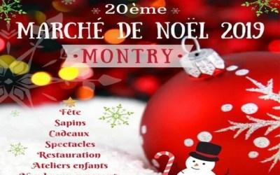Les Féeries et le Marché de Noël 2019 organisés à Montry du 6 au 8 décembre