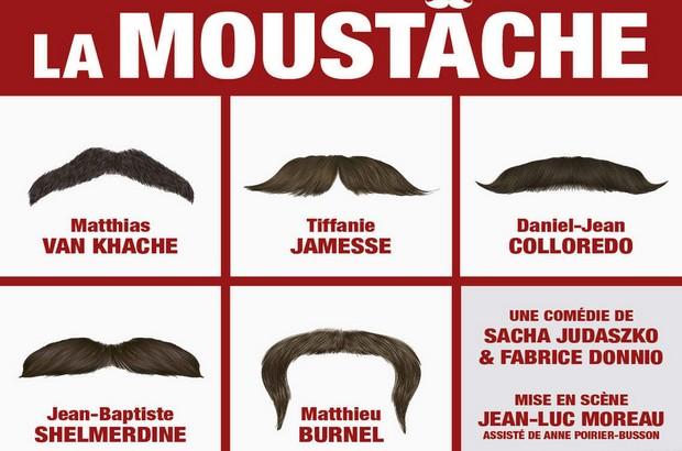 Serris : Soirée théâtre «La moustache» à la Ferme des communes le 1er février