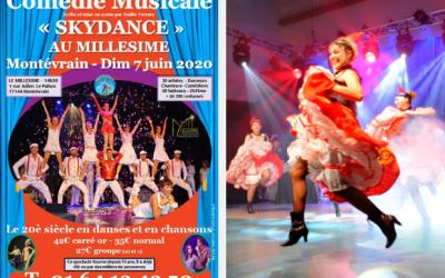 """Comédie musicale """"Skydance"""" Le 20è siècle en danses et en chansons au Millésime"""