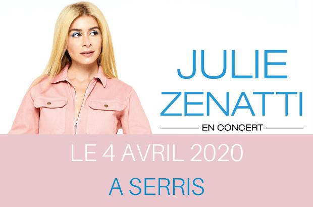 [ANNULÉ] Concert de Julie Zenatti à la Ferme des Communes à Serris