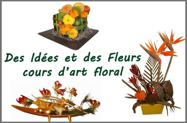 [ANNULÉ] Cours mensuel – Apprenez à réaliser une composition florale.