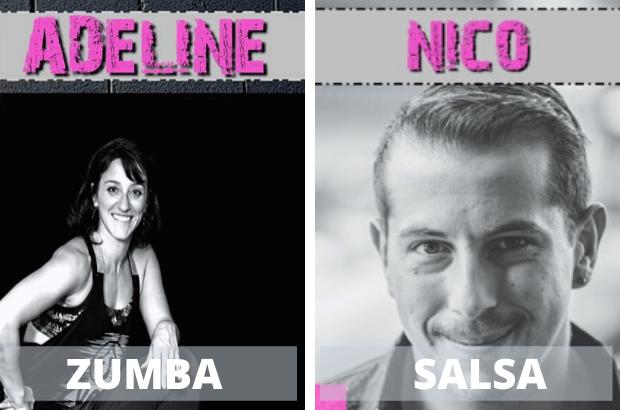 Chessy : Stages de Zumba et Salsa à Capdanse dimanche 23 février 2020