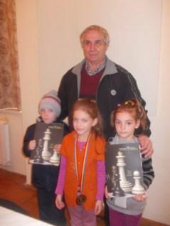 Berintan si copiii din Vulcan