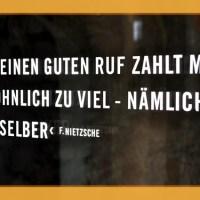 Das Zitat: Friedrich Nietzsche