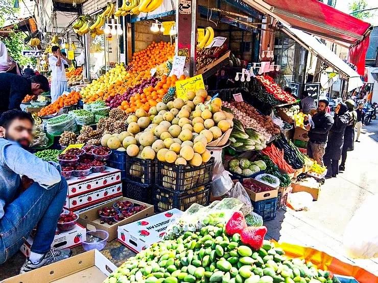 Marché Téhéran