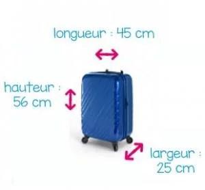 Standard bagage à main IATA