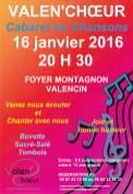 Cabaret en chanson 16 janvier 2016