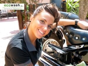 Limpieza moto ecowash