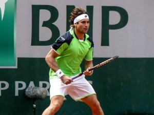 2ème tour Roland Garros 2013 : David Ferrer (ESP) def. Albert Montanes (ESP)