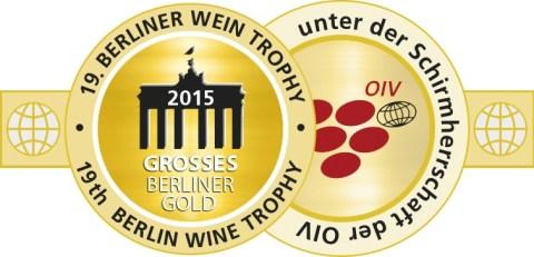 Medaille BerlinWeinTrophy 2015 GrossesGold