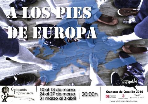 Cartel A los Pies de Europa